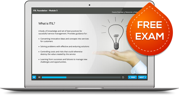 ITIL Foundation eLearning Certification Course | TechnoLava